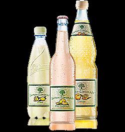 Garten-Limonade Zitrone,Garten-Limonade Orange,Garten-Limonade Pink-Grapefruit