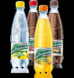 Orangen-Limonade,Zitronen-Limonade,Cola, Cola-Mix